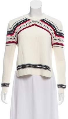 Torn By Ronny Kobo Wool Crewneck sweater