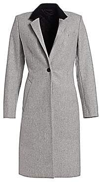 Rag & Bone Rag& Bone Rag& Bone Women's Daine Virgin Wool-Blend Trench Coat