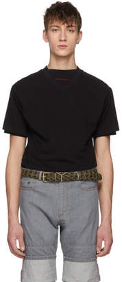 Y/Project Black Layered Double Sleeve T-Shirt