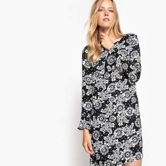 La Redoute Collections Floral Print Shift Dress