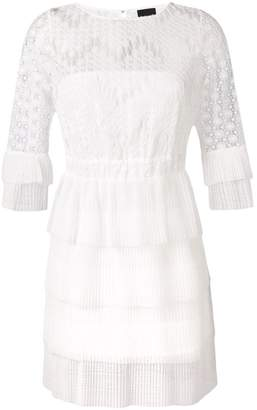 Just Cavalli lace-embroidered dress