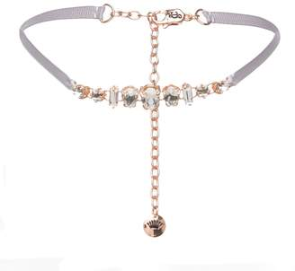 Juicy Couture Rose Gold Stone Choker