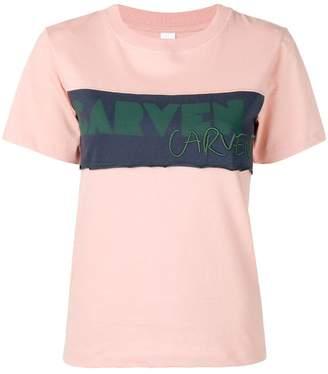 Carven logo panel T-shirt