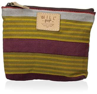 Will Leather Goods Women's Weaver's House Zip Pouch