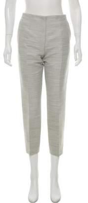 Celine Céline Wool High-Rise Pants grey Céline Wool High-Rise Pants