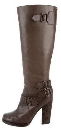 Jean-Michel Cazabat Buckle-Accented Knee-High Boots