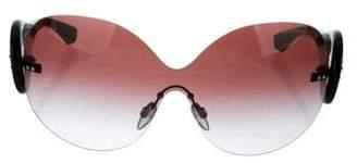 Emporio Armani Kajal Embellished Sunglasses