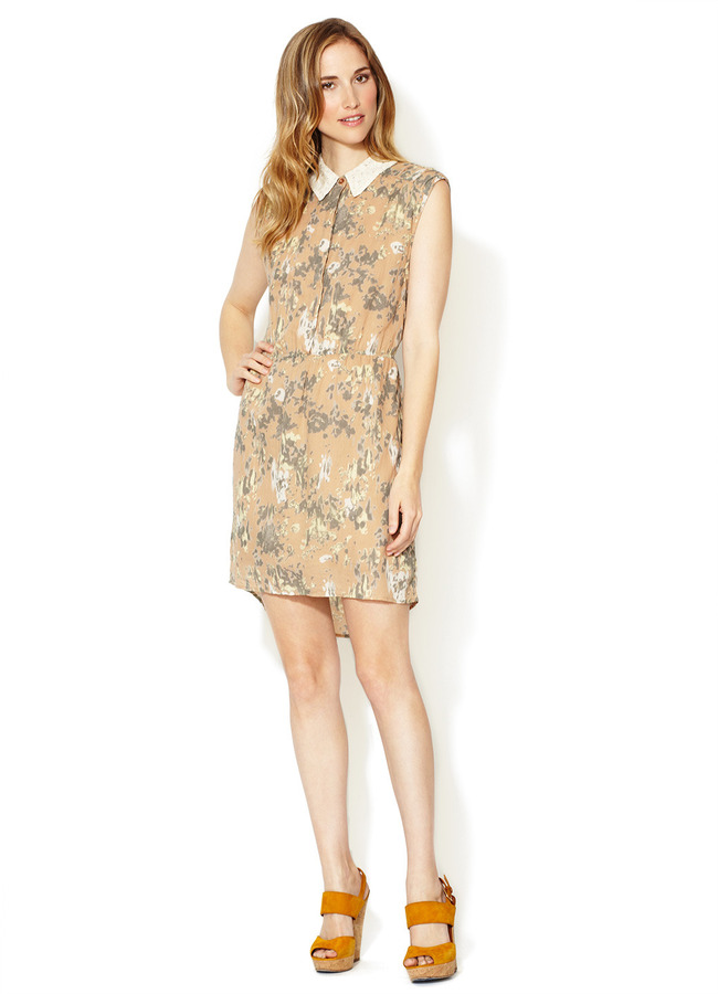 Winter Kate Maeve Cotton Lace Collar Dress