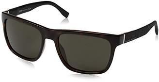 HUGO BOSS BOSS by Men's B0918s Rectangular Sunglasses