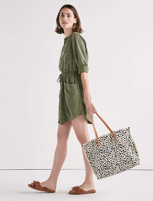 Lucky Brand TENCEL SHIRT DRESS