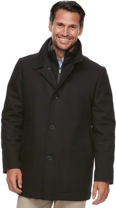 Ike Behar Men's Modern-Fit Wool-Blend Top Coat