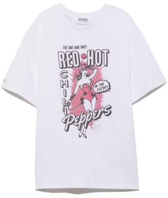 Snidel (スナイデル) - SNIDEL RED HOT CHILI PEPPERS Tshirt
