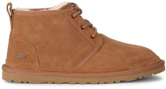 UGG Neumel Brown Suede Ankle Boots