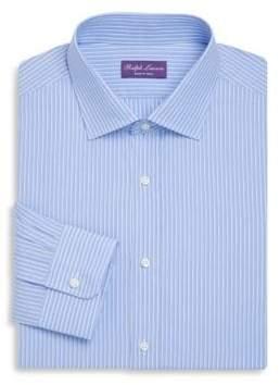 Ralph Lauren Purple Label Striped Regular-Fit Dress Shirt