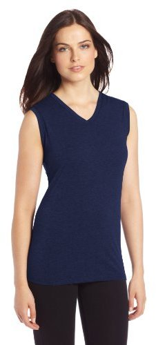 Cuddl Duds Women's Active Layer Squared Off Tank