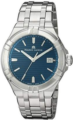 Maurice Lacroix Men's 'Aikon' Swiss Quartz Stainless Steel Casual Watch