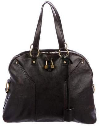 Saint Laurent Leather Oversized Muse Tote