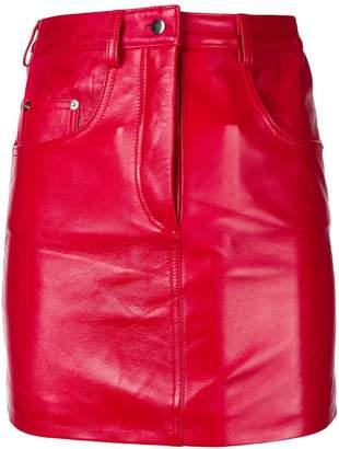 Manokhi straight mini skirt