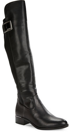 Calvin KleinCalvin Klein Cyra Knee-High Leather Boots