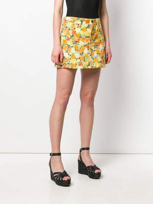 Simon Miller short floral skirt