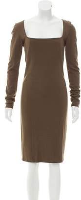 Kimberly Ovitz Knee-Length Sheath Dress