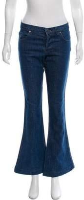 Ksubi Flared Mid-Rise Jeans
