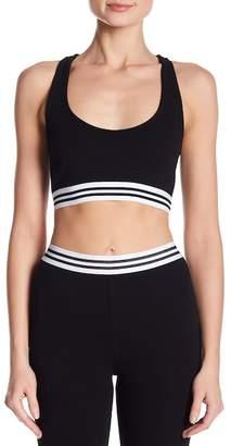 Honey Punch Athletic Stripe Top