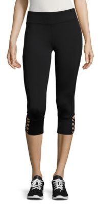Marc New York Performance Solid Cropped Leggings
