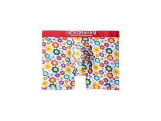 Nick Graham Flowers Boxer Brief Men's Underwear