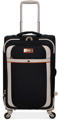 """Jessica Simpson Monterey 21"""" Softside Expandable Carry-On Spinner Suitcase"""