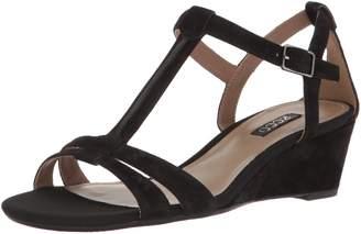 Ecco Women's Women's Rivas 45 T-Strap Wedge Sandal