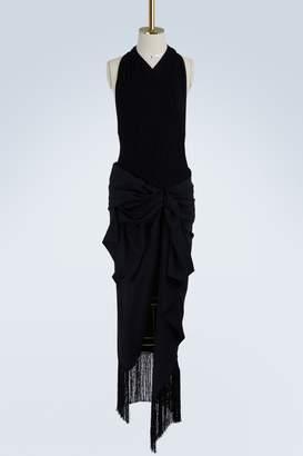 Jacquemus Drapeado dress