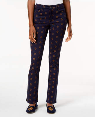 Charter Club Lexington Printed Jeans, Created for Macy's