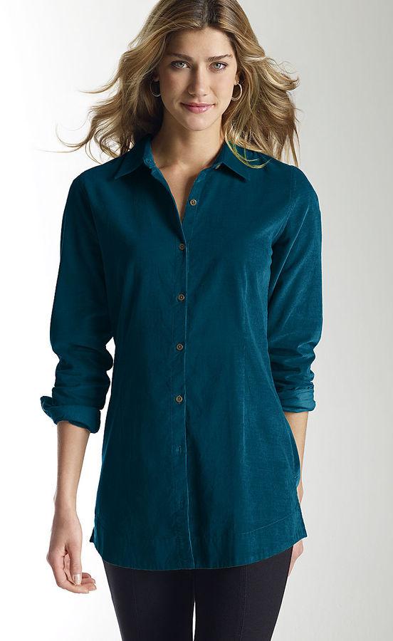 J. Jill Cotton pincord tunic