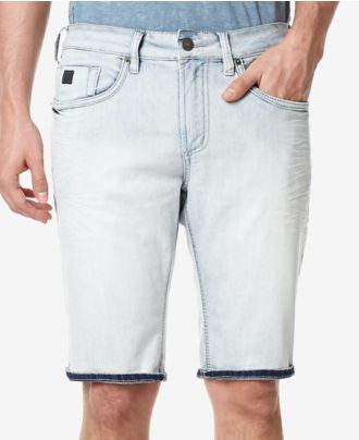 Buffalo David Bitton Men's Denim Parker-X Stretch Shorts