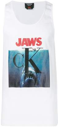 Calvin Klein Jaws print tank top