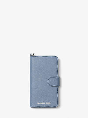 Michael Kors Saffiano Leather Folio Phone Case For Iphone 7/8
