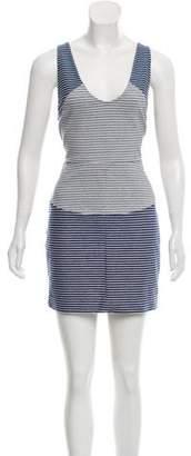 Thakoon Striped Mini Dress