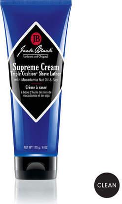 Jack Black Supreme Cream Triple Cushion&174 Shave Lather, 6.0 oz.