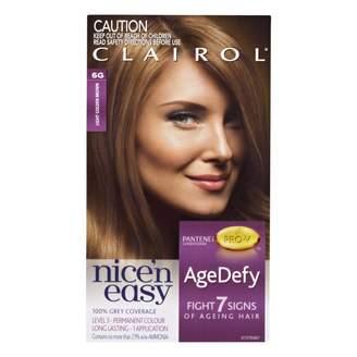 Clairol Nice'n Easy Age Defy Permanent Hair 6G Colour Light Golden B 1 pack