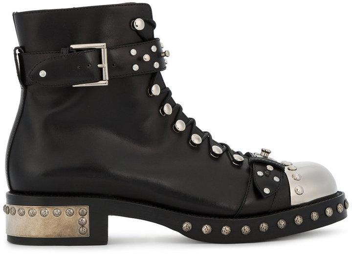 Alexander McQueenAlexander McQueen studded boots