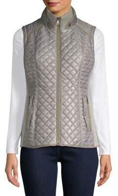 Gallery Textured Quilted Vest