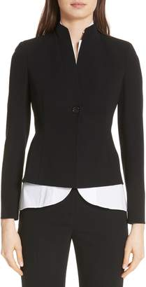 Akris 'Temptation' Wool Jacket