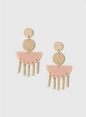 Evans Gold Statement Earrings