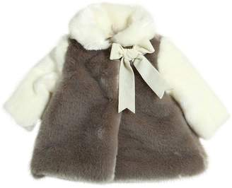 La Stupenderia Faux Fur Coat