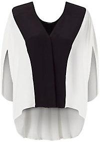Derek Lam Colorblock Silk Blouse $1,150 thestylecure.com
