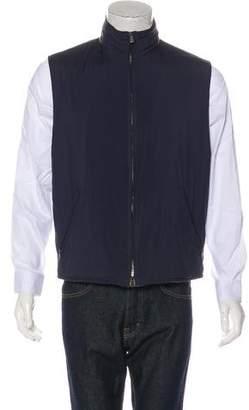 Loro Piana Zip-Up Reversible Vest