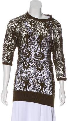 Isabel Marant Knit Three-Quarter Sleeve Tunic w/ Tags