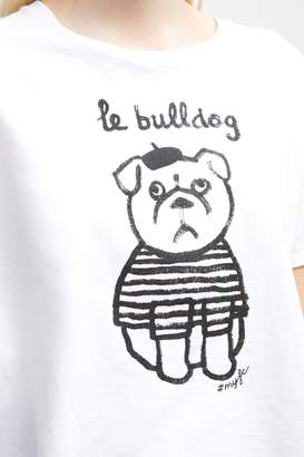 French Connenction Le Bulldog T-Shirt