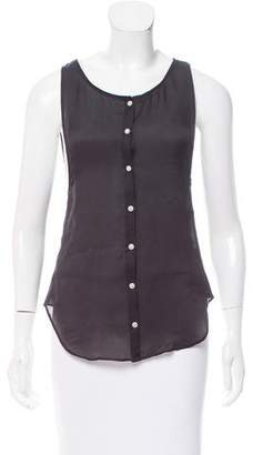 Shipley & Halmos Silk Sleeveless Top